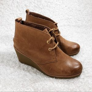 Sperry Lace Up Wedges